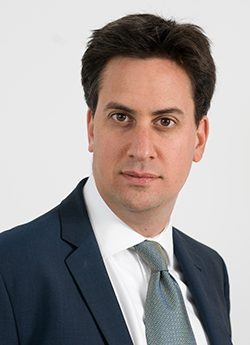 Ed Milliband, Secretary of State at the Department of Energy and Climate Change
