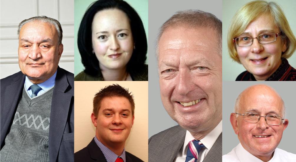 Retiring Councillors