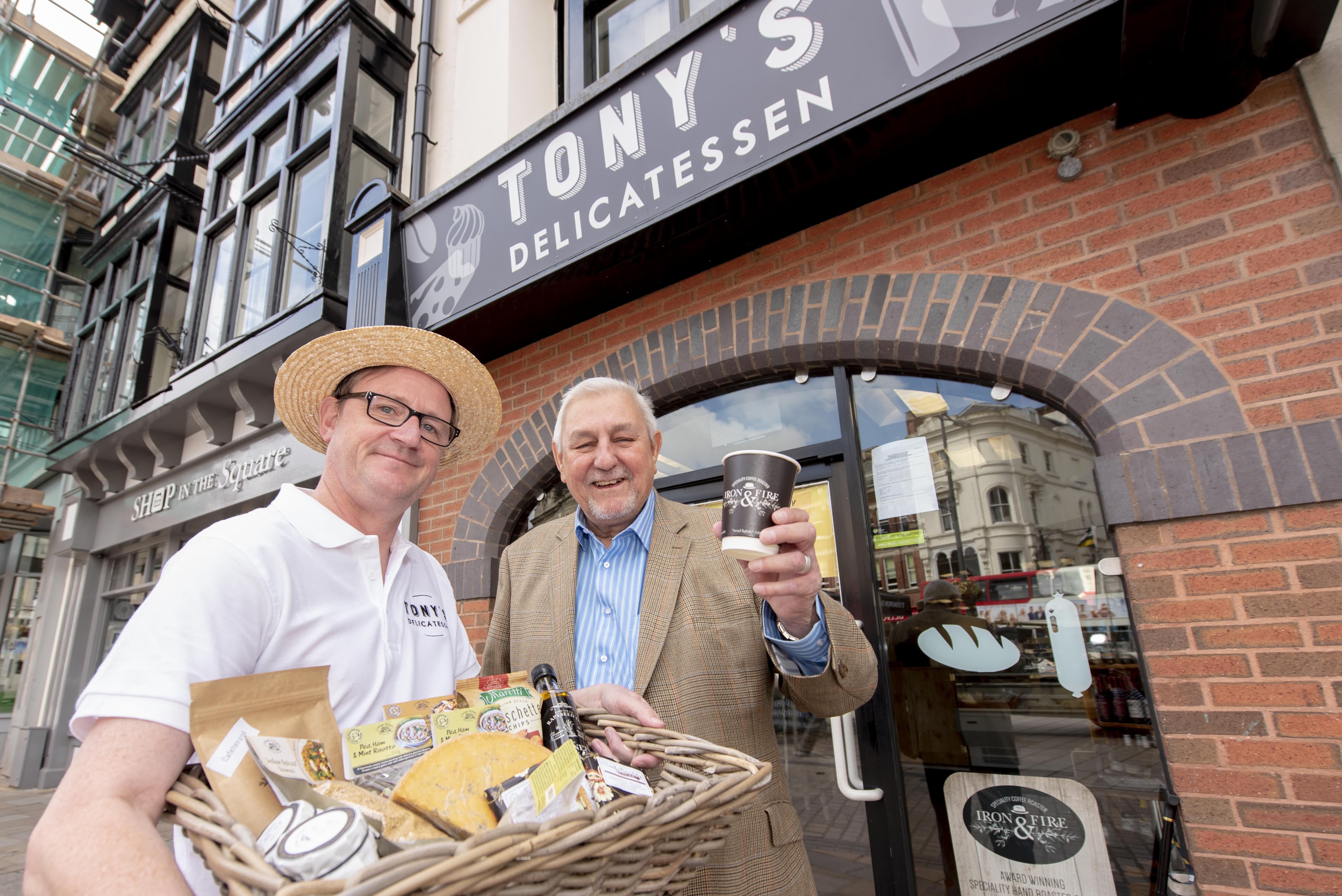 Tasty new business to open doors in Queen Square