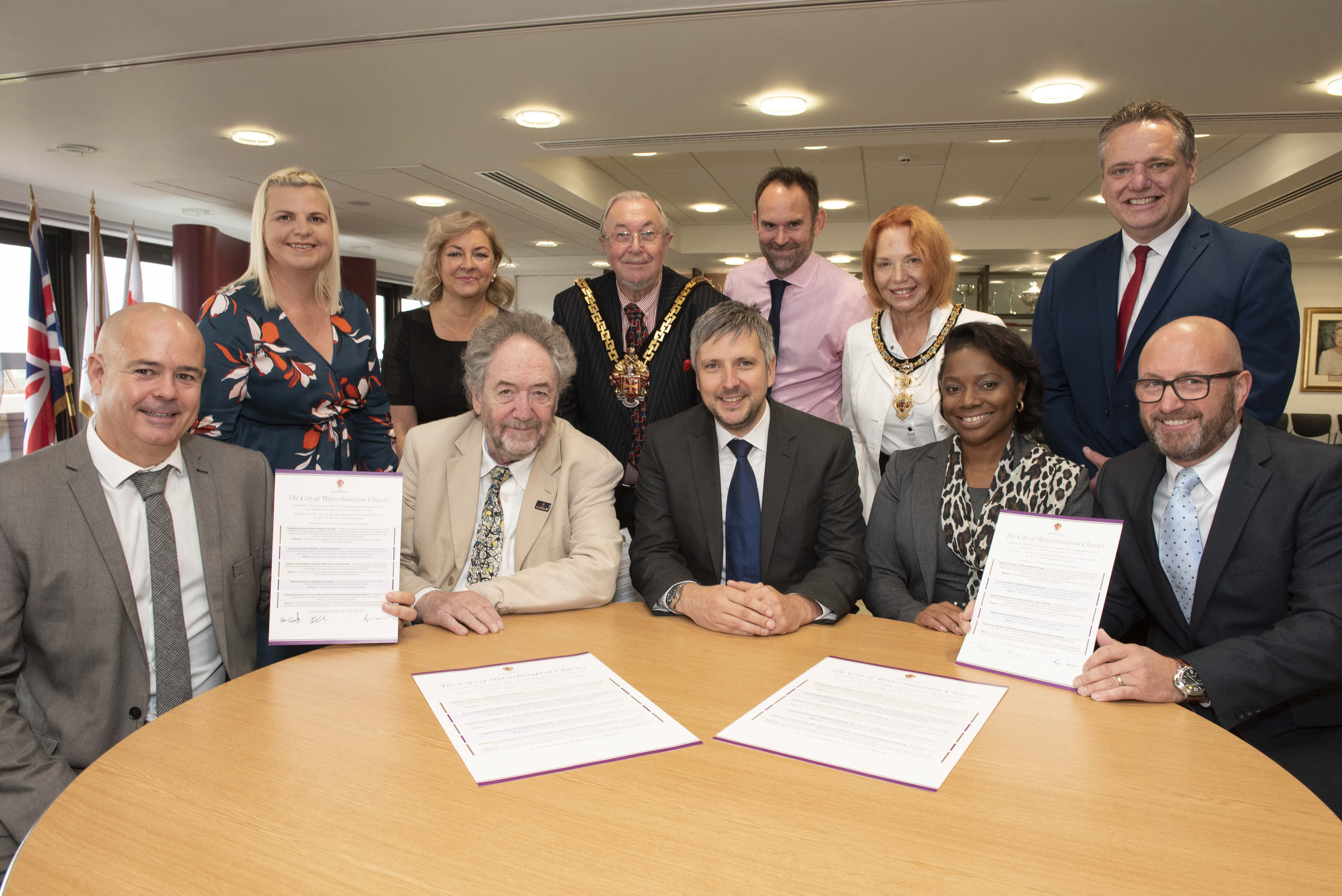 Galliford Try sign up to City of Wolverhampton Charter