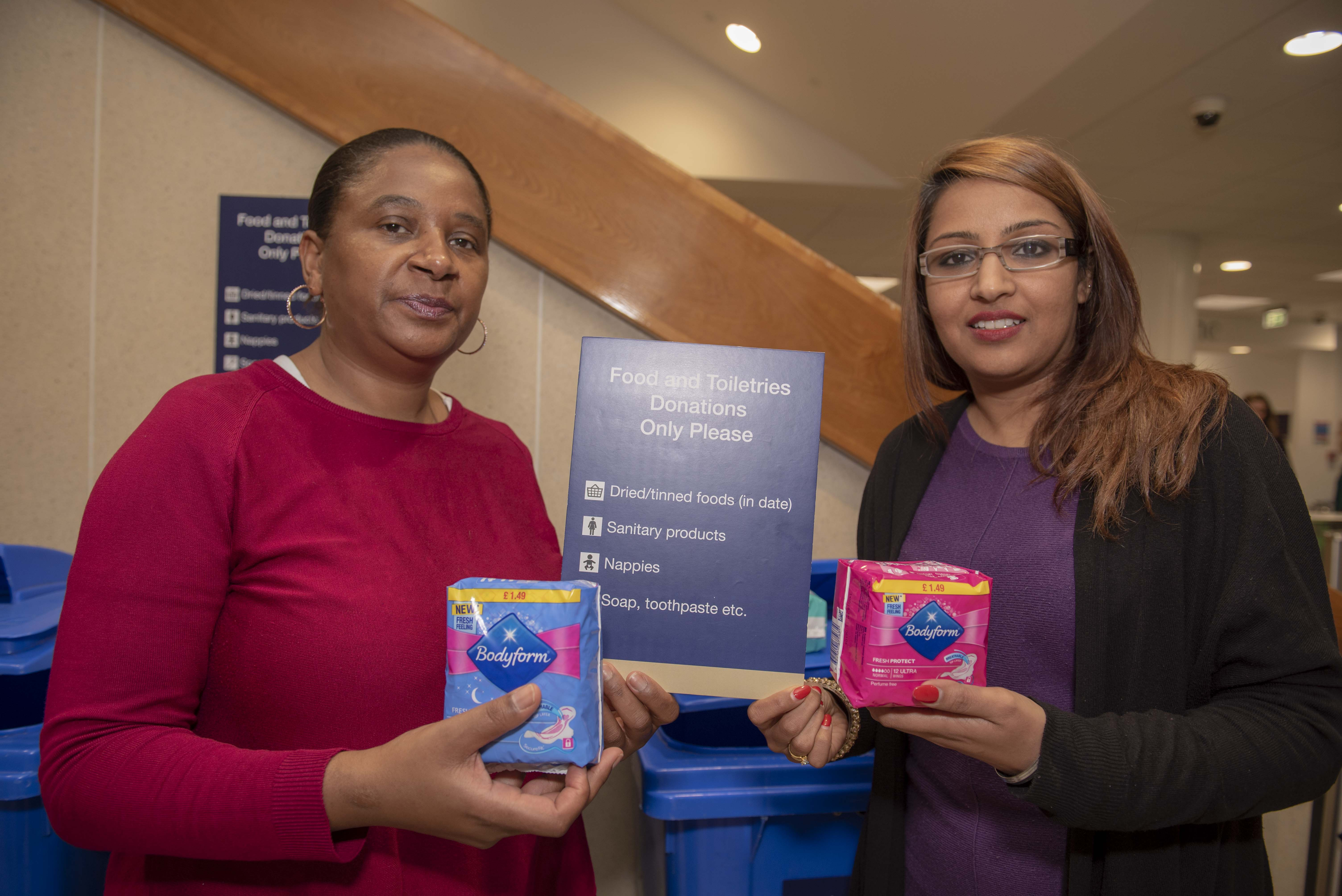 Donate sanitary products and help tackle period poverty