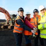Work starts on new council homes development