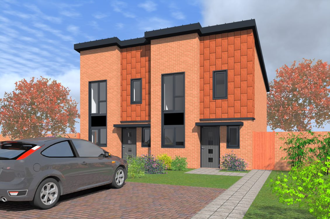 Application submitted for new Heath Town homes