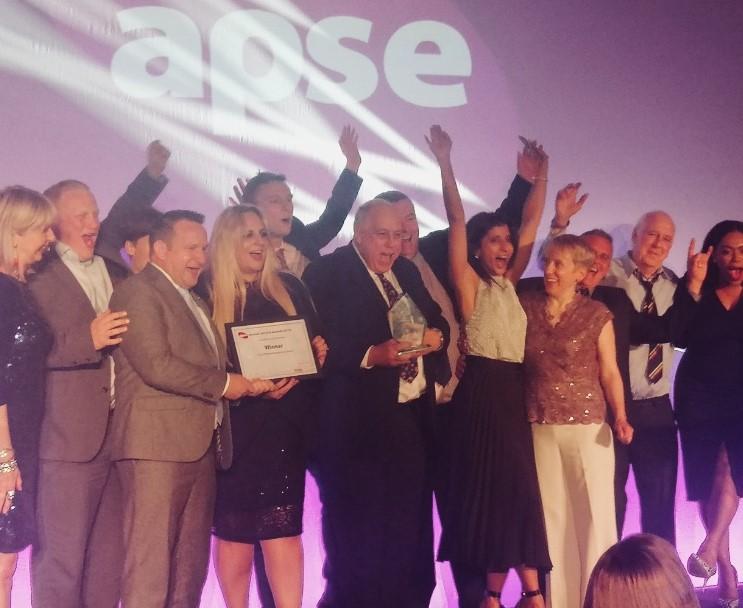 Council receives two prestigious APSE awards