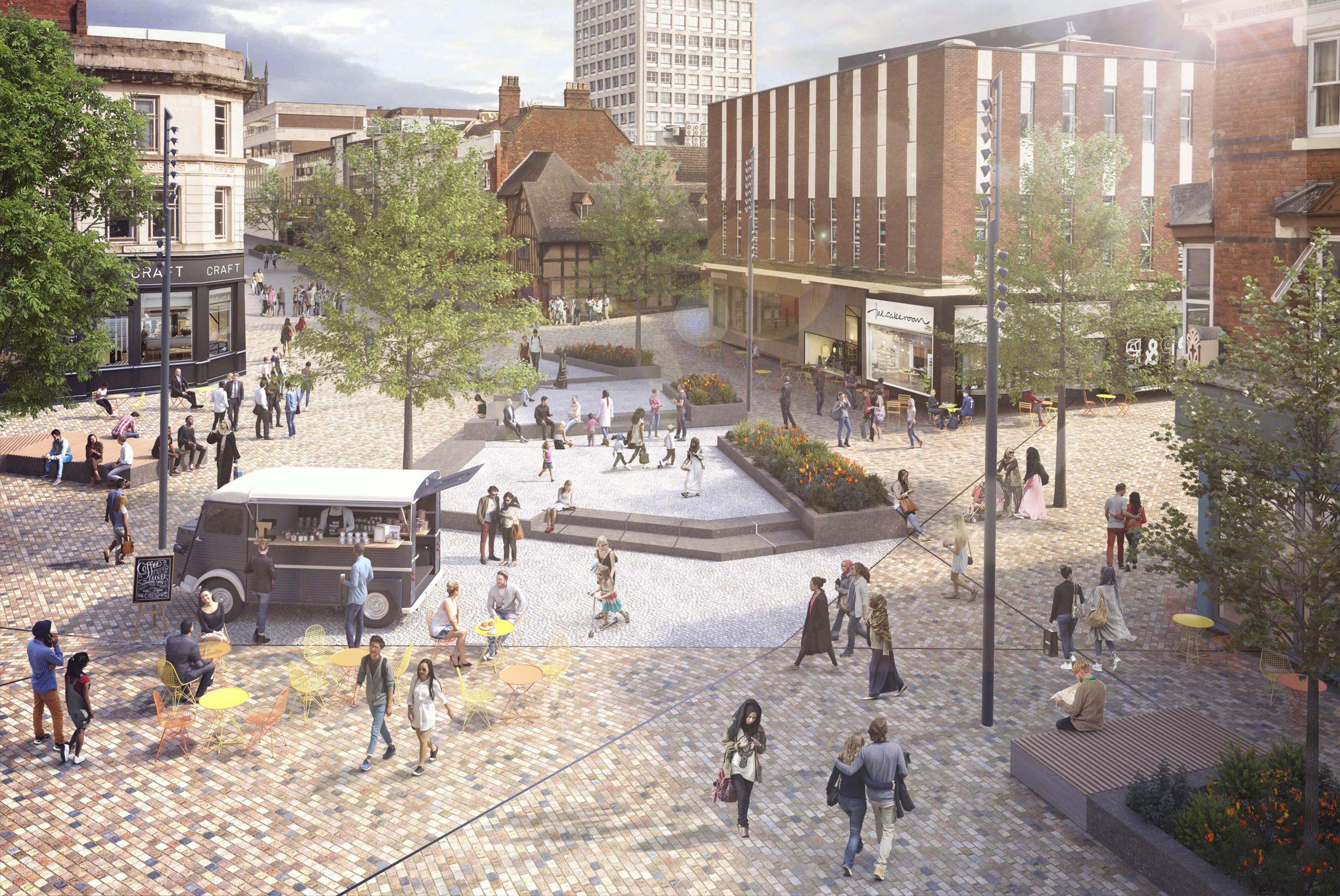 Council progresses plans for new-look city centre