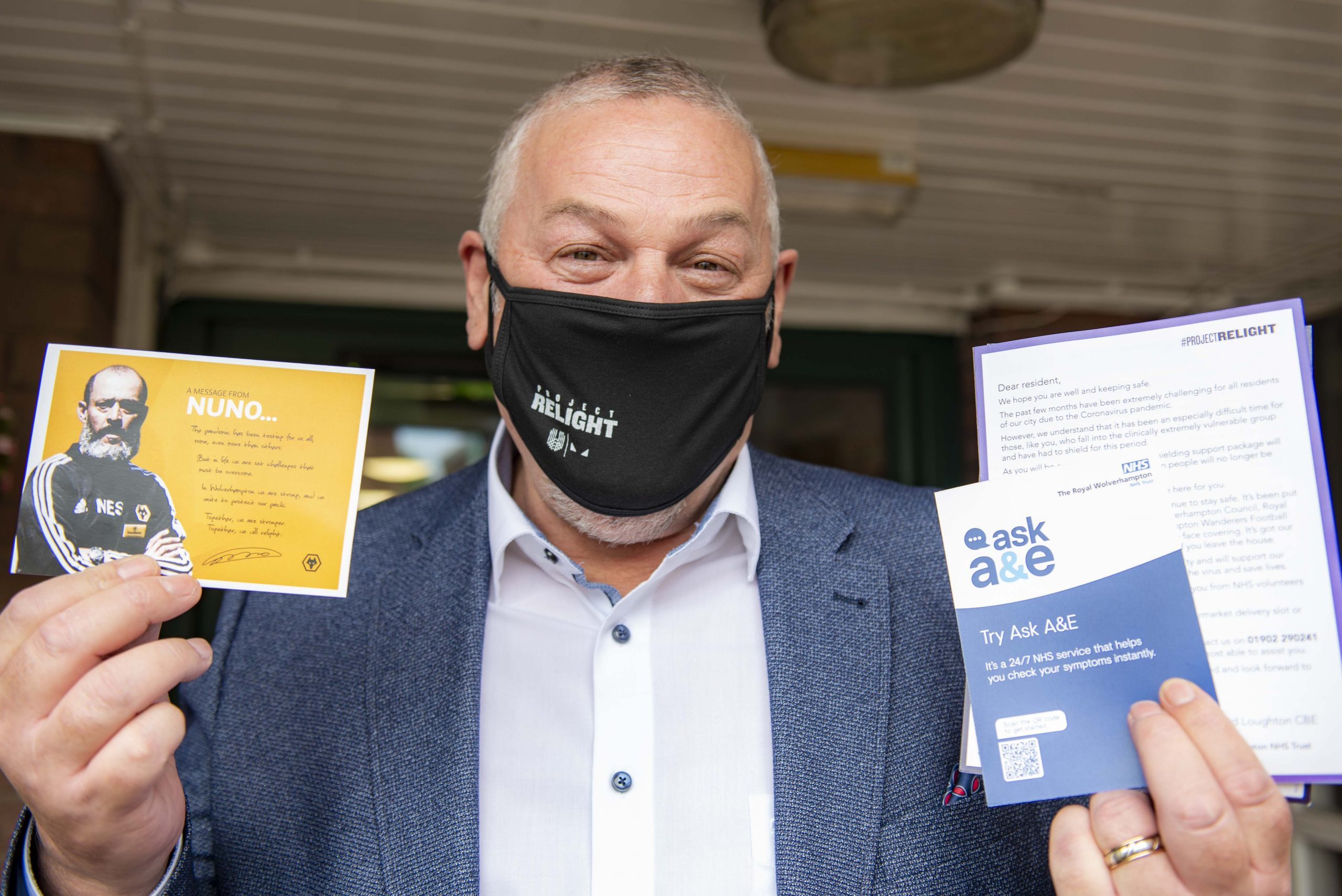 Covid 'care packs' to be sent to most vulnerable residents