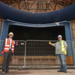 On-site works restart on iconic Civic Halls restoration