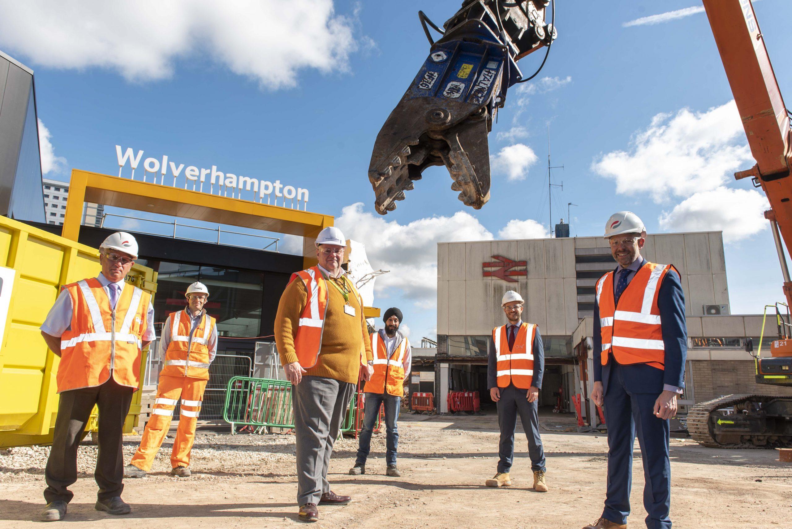 Historic day for Wolverhampton Railway Station scheme
