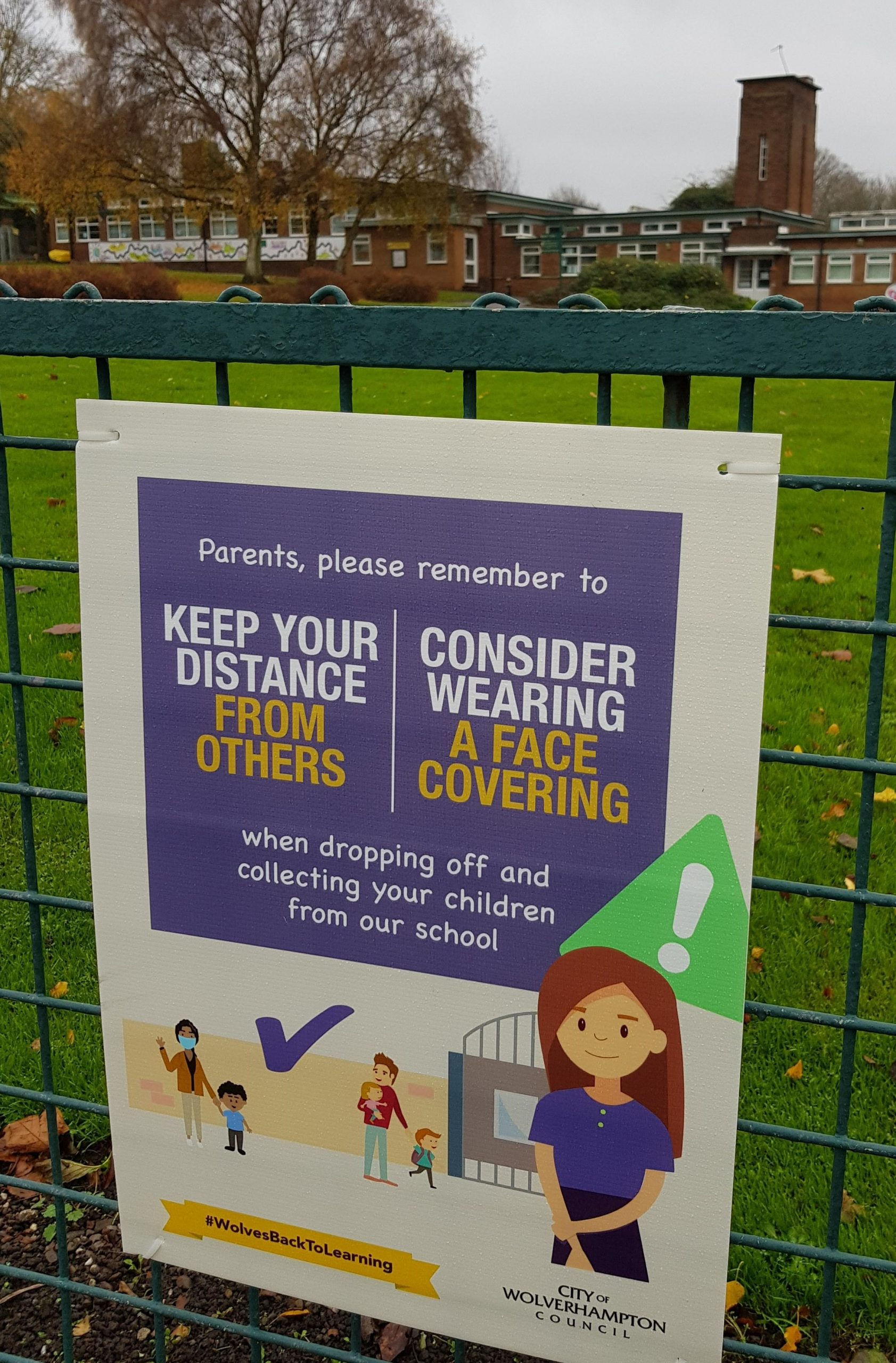 Parents urged to help their schools stay Covid-secure
