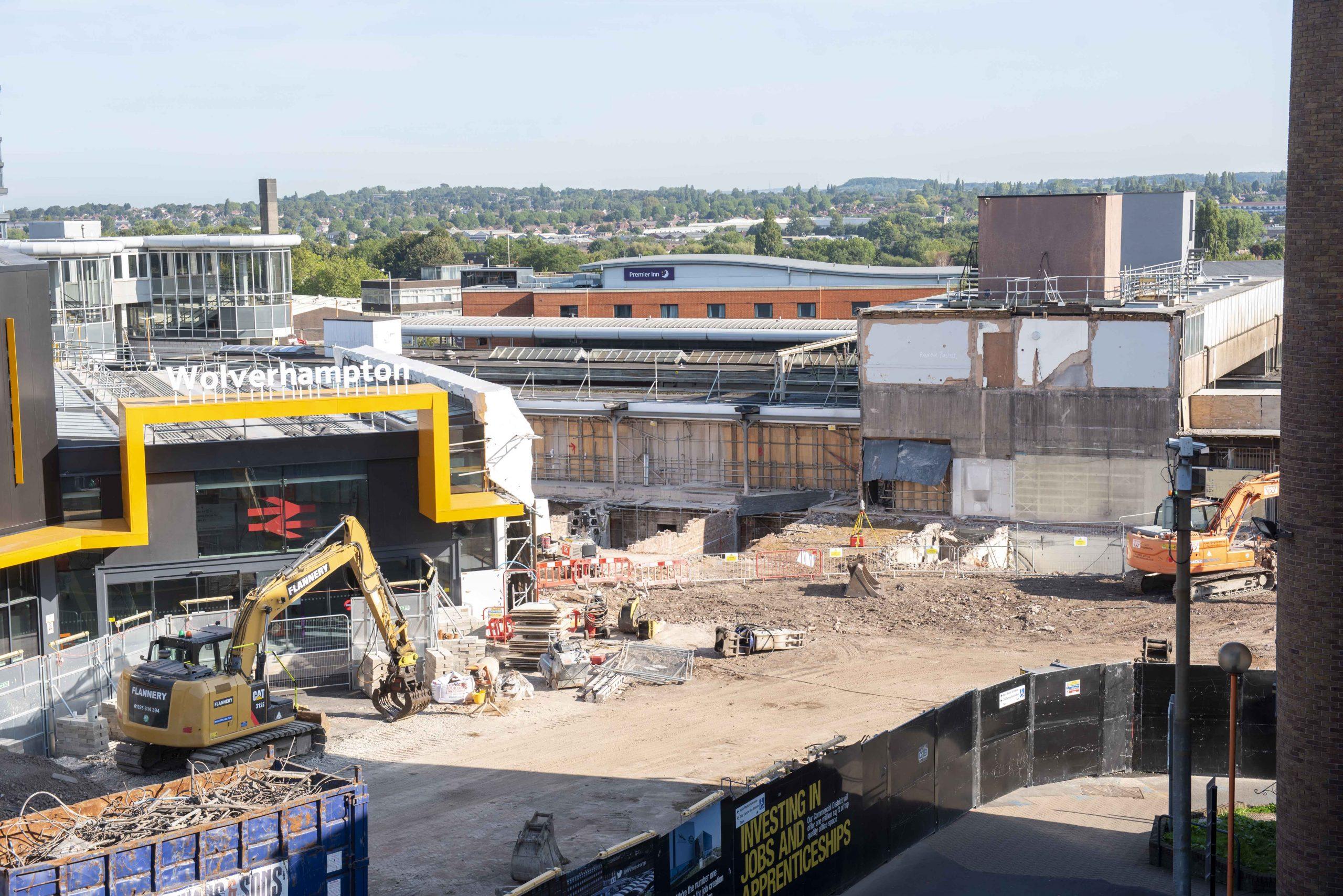 Wolverhampton Interchange project scoops top award